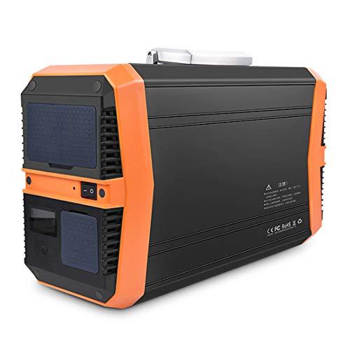SHIN Generador Solar portátil,1000Wh Estación de Almacenamiento Recargable, con 1000W de Onda...