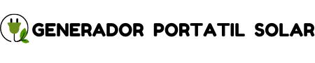 GENERADOR PORTATIL SOLAR